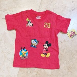 Disney Jr Mickey & The Roadster Racer Shirt 2T